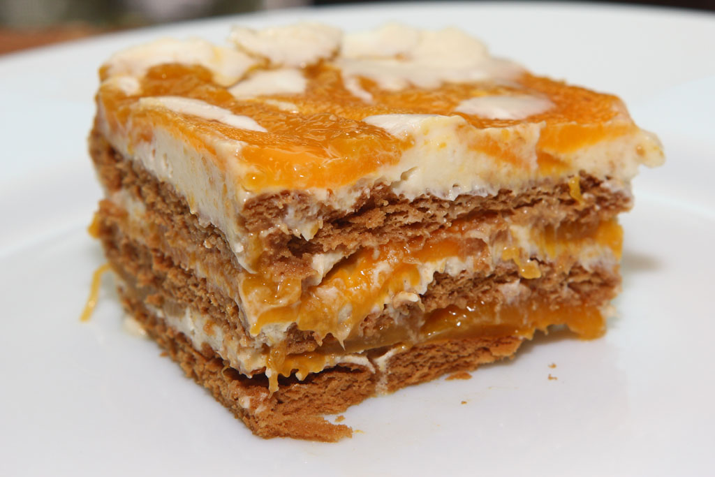 Easy Mango Graham Cake Recipe