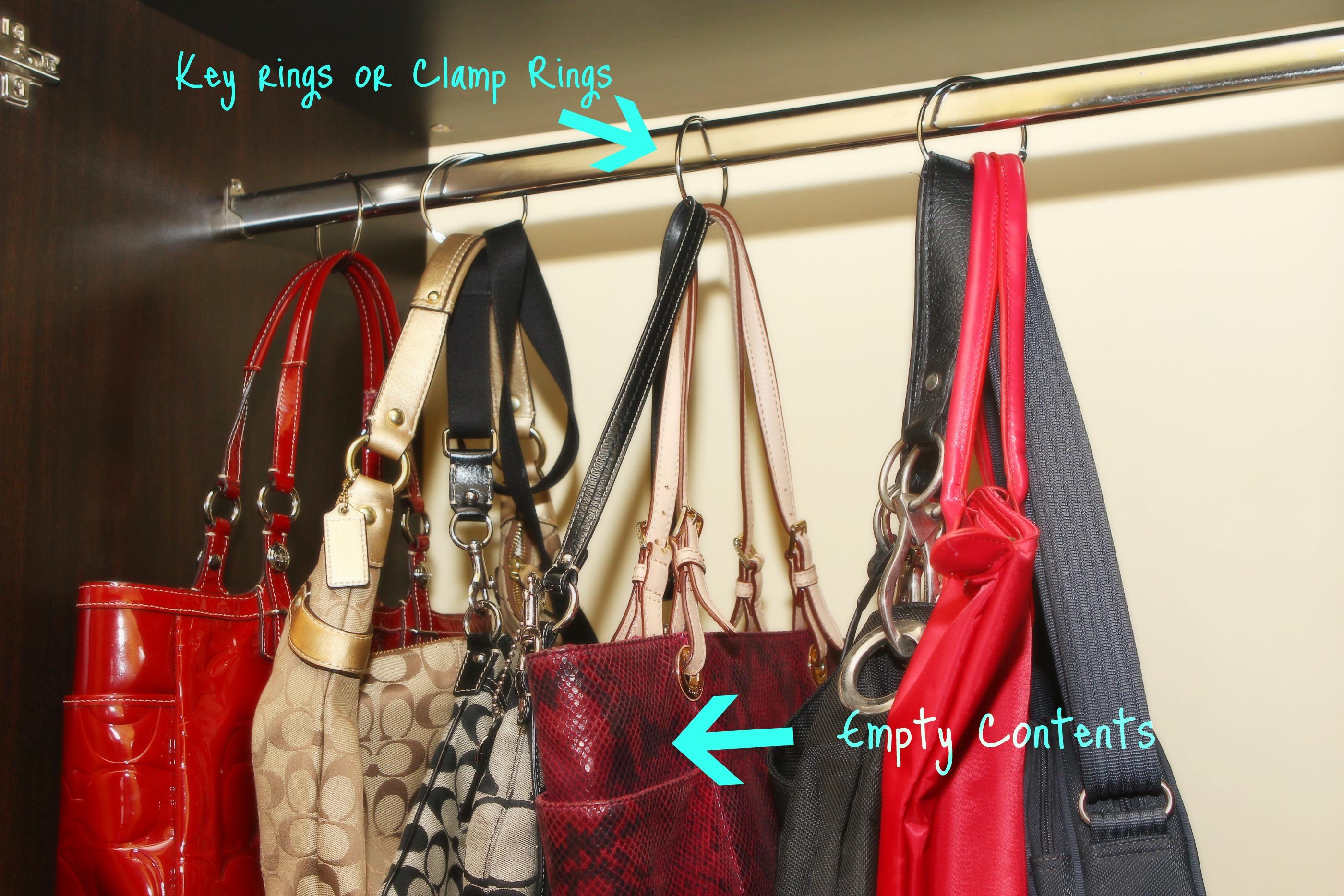 Marryl Gets Organized: Handbags